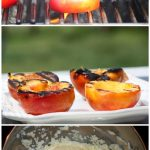 Grilled White Nectarines with Amaretto Spiked Mascarpone Recipe