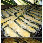 Panko-Parmesan Crusted Zucchini Fries