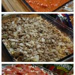 3 Meat Pizza Casserole Recipe